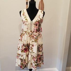 Nwt Xhilaration Size L Sleeveless Dress